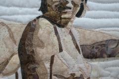 Closeup of Beulah (my mother)