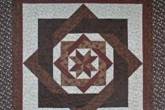 Chocolate Fractals Quilt