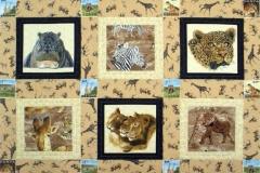 Poppins African Safari Quilt