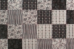 Poppins Black & White Freedom Quilt
