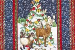 Poppins Critter Christmas Quilt