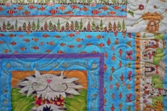 Poppins Fancy Cats Quilt