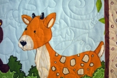 Poppins Forest Friends Quilt