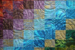 Poppins Lonni Rossi Bargello Quilt