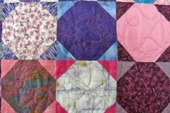 Pretty 'n Pink Quilt detail