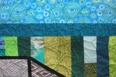 Details of the quilting